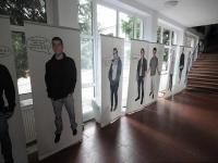 Installáció a Lóczy Lajos Gimnáziumban