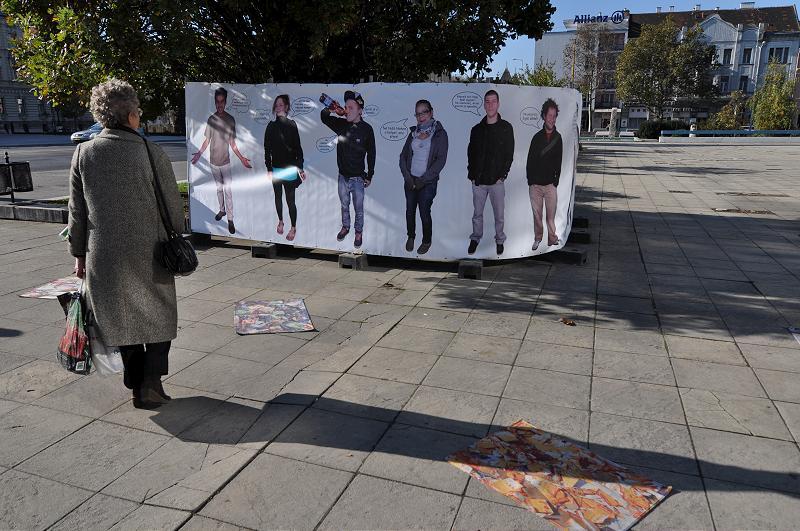 Utcai kampány - GlobLight Turné, Győr