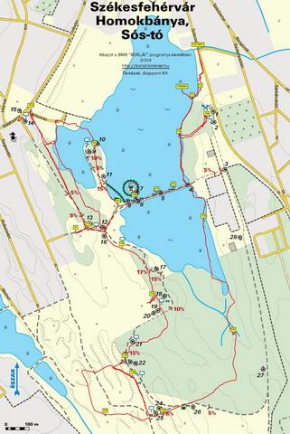 székesfehérvár látnivalók térkép Sóstó | Gaja Környezetvédő Egyesület székesfehérvár látnivalók térkép